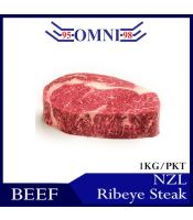 Grassfed NZL Beef Ribeye Steak 纽西兰牛泪眼牛扒 (1kg/pkt)